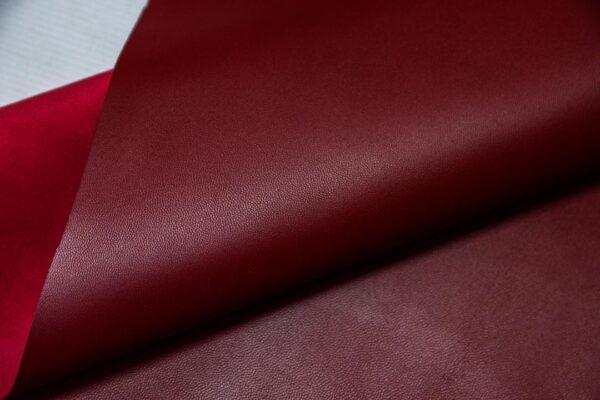 Кожа МРС, темно-красная, 40 дм2.-110355