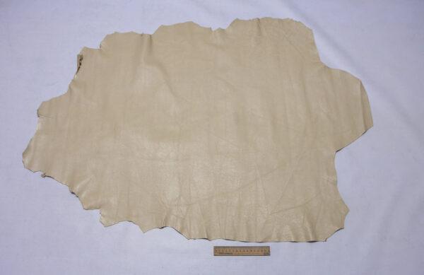 Кожа МРС, кремовая, 76 дм2.-110375
