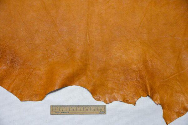 Кожа теленка, светло-коричневая, 66 дм2.-110382