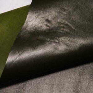Кожа МРС, темно-зеленая, 79 дм2.-110387