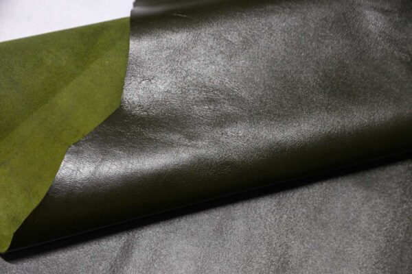 Кожа МРС, темно-зеленая, 79 дм2.-110388