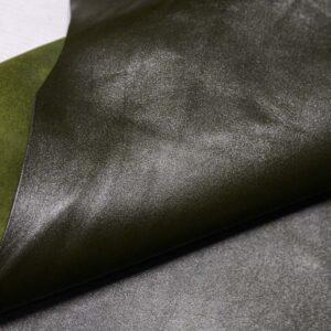 Кожа МРС, темно-зеленая, 74 дм2.-110389