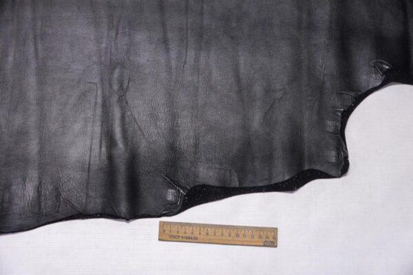 Стрейч кожа МРС, черная, 65 дм2.-110390