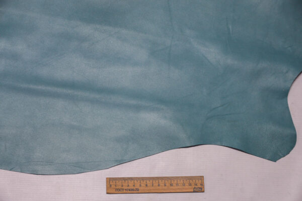 Кожа МРС, бирюзовая, 44 дм2.-110392