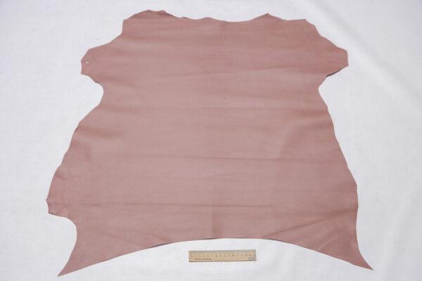 Кожа МРС, грязно-розовая, 46 дм2.-110403