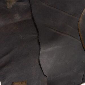 Кожа КРС крейзи хорс (Crazy Horse) с эффектом пул ап (Pull Up), темно-коричневая, 12 дм2.-1-518