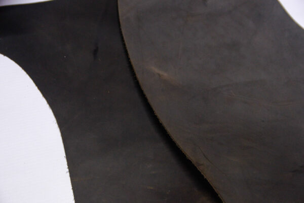 Кожа КРС крейзи хорс (Crazy Horse) с эффектом пул ап (Pull Up), темно-коричневая, 15 дм2.-1-520