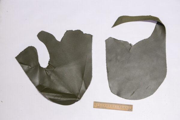 Кожа КРС, темно оливковый, 12 дм2.-1-531