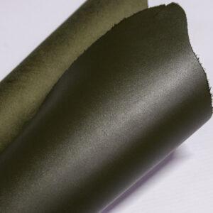 Кожа КРС, темно оливковый,15 дм2.-1-533