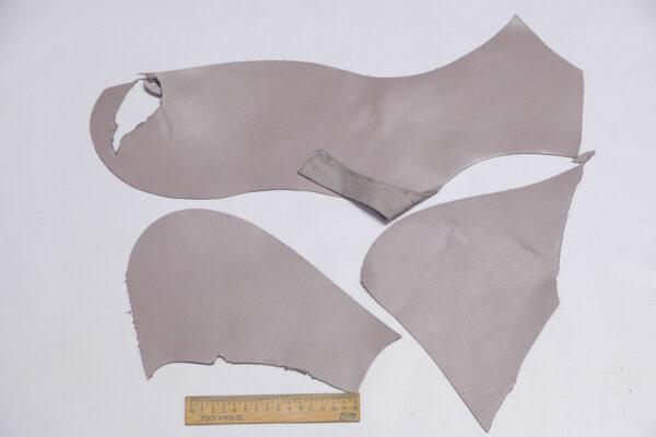 Кожа КРС, серо-розовый, 12 дм2.-1-550