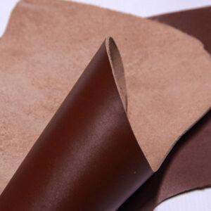 Кожа КРС, коричневый, 14 дм2.-1-555