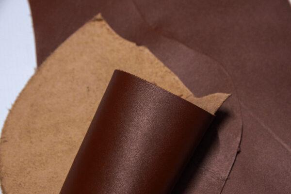 Кожа КРС, коричневый, 16 дм2.-1-556