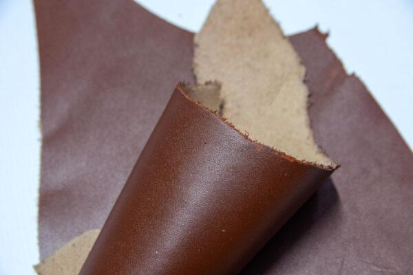 Кожа КРС, коричневый, 11 дм2.-1-557