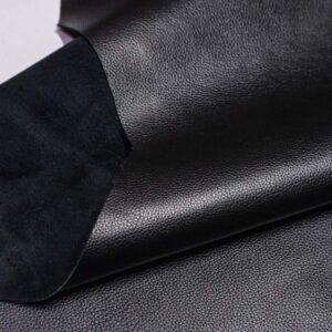 Кожа КРС, флотар, черный, 186 дм2.-D1-603