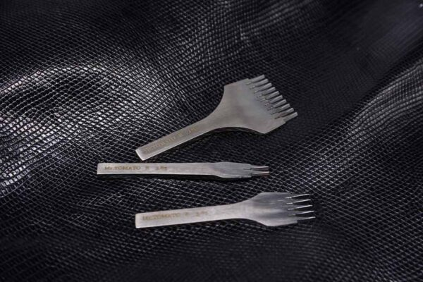 Набор пробойников вилочных 3.85 мм. (реверсный) полированные - французский стиль -1169-1