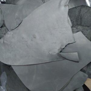 Кожа КРС крейзи хорс (Crazy Horse) с эффектом пул ап (Pull Up), черная, - 1 кг