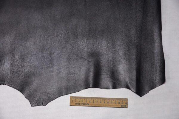 Кожа МРС, графитовая, 30 дм2, Conceria Stefania S. p. A.-110413