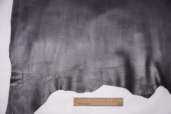 Кожа МРС, графитовая, 46 дм2, Conceria Stefania S. p. A.-110414