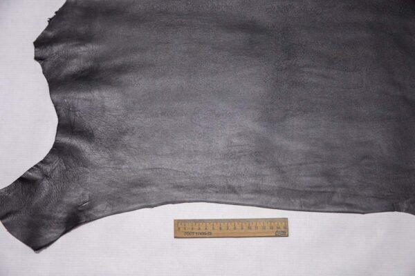 Кожа МРС, графитовая, 43 дм2, Conceria Stefania S. p. A.-110415