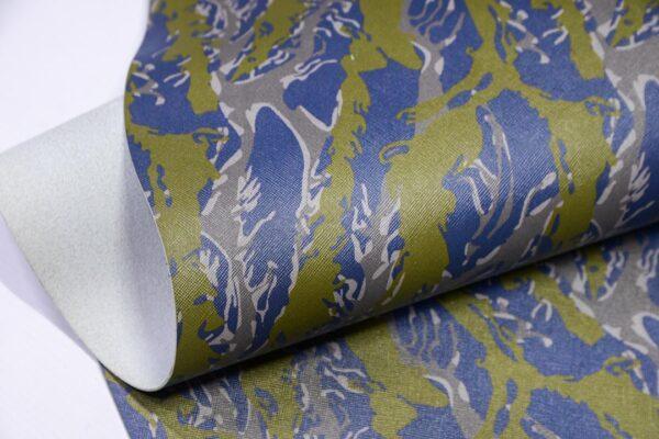 Кожа КРС сафьяно (Saffiano) с принтом, мультицвет, 131 дм2, Dolmen S.p.A.-110480