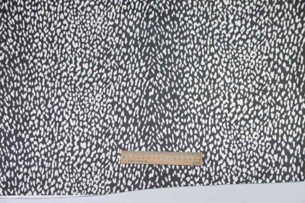 Кожа КРС с принтом, черно-белая, 153 дм2, Dolmen S.p.A.-110486