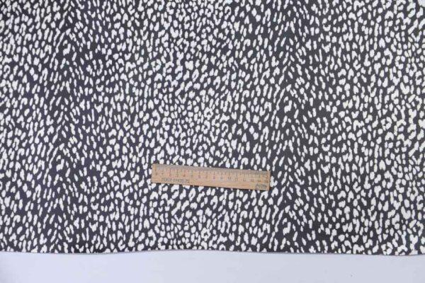 Кожа КРС с принтом, черно-белая, 152 дм2, Dolmen S.p.A.-110487