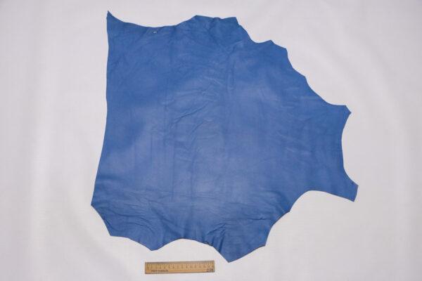 Кожа МРС, голубая, 34 дм2.-110438