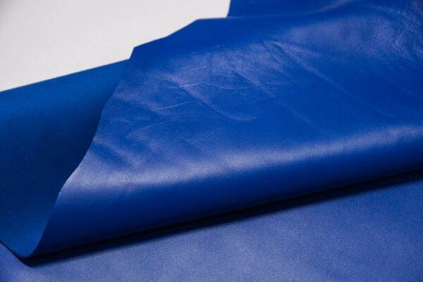 Кожа МРС, синяя, 53 дм2.-110439