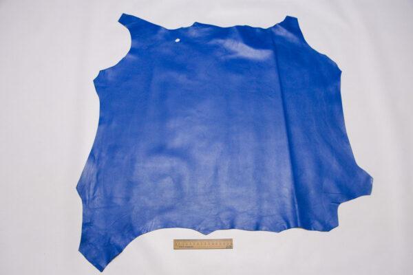 Кожа МРС, синяя, 51 дм2.-110440
