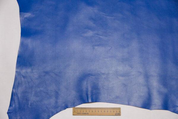 Кожа МРС, синяя, 39 дм2.-110441