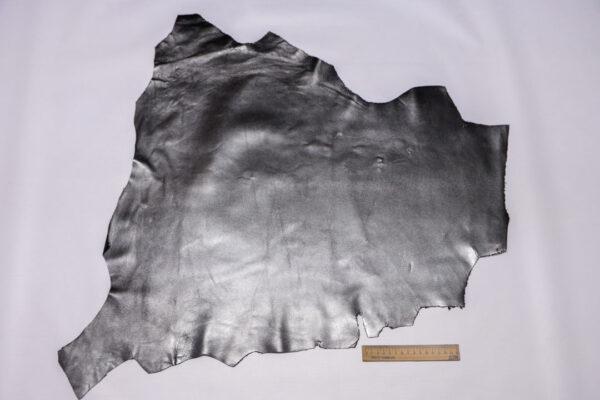 Кожа МРС, графитовый металлик, 37 дм2, Conceria Liberty S.r.l.-110459