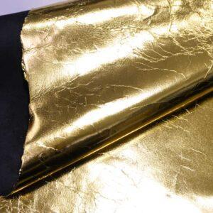 Кожа теленка, золотая, 96 дм2.-110467