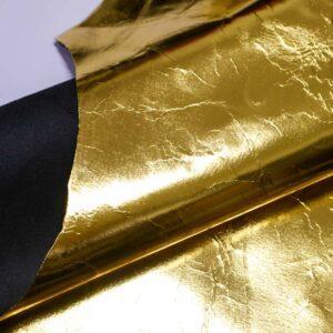 Кожа теленка, золотая, 98 дм2.-110468