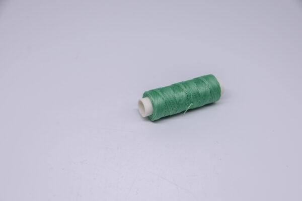 """Нить """"GALACES"""" вощеная круглая 0,45 мм. Салатовая-s032"""