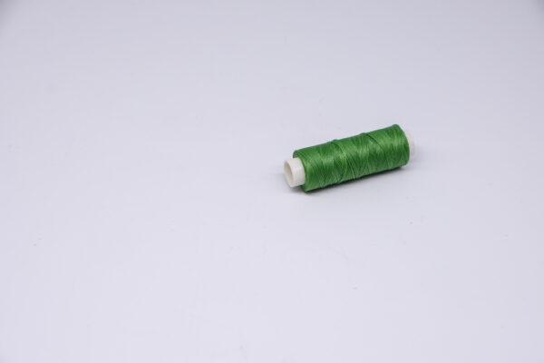 """Нить """"GALACES"""" вощеная круглая 0,45 мм. Зеленая-s066"""