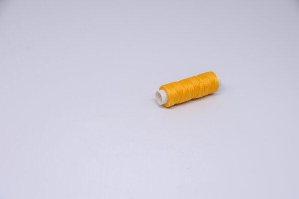 """Нитка """"GALACES"""" воскована кругла 0,55 мм. Жовта-s041"""
