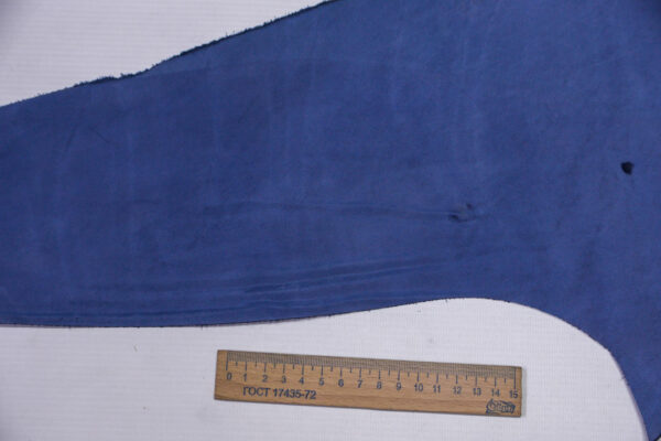 Кожа КРС Крейзи, синий, 12 дм2.-1-568
