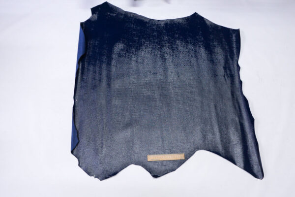 Наплак теленка с тиснением, темно-синий, 74 дм2, Dolmen S.p.A.-110530
