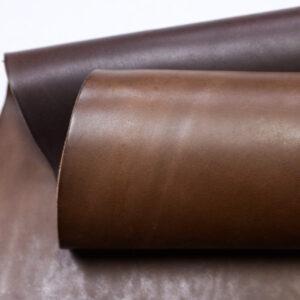 Кожа КРС ременная, краст растительного дубления, коричневая, 147 дм2.-110534