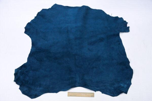 Велюр МРС (коза), синий, 40 дм2, Derma S.r.l.-110545