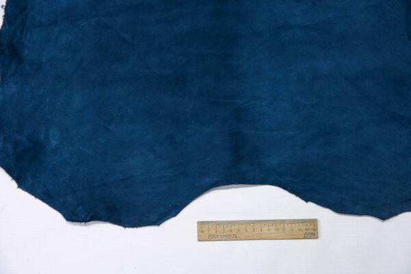 Велюр МРС (коза), синий, 40 дм2, Derma S.r.l.-110546