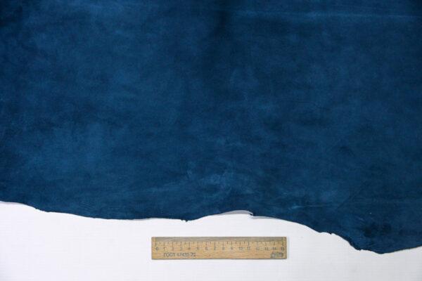 Велюр МРС (коза), синий, 40 дм2, Derma S.r.l.-110547