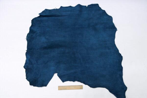 Велюр МРС (коза), синий, 39 дм2, Derma S.r.l.-110548