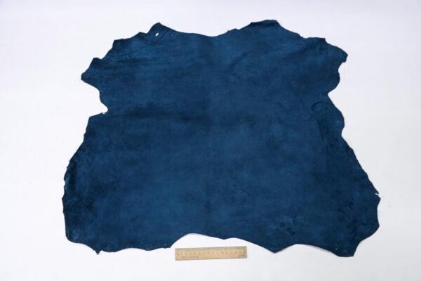 Велюр МРС (коза), синий, 37 дм2, Derma S.r.l.-110549