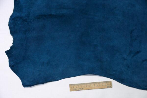 Велюр МРС (коза), синий, 39 дм2, Derma S.r.l.-110550