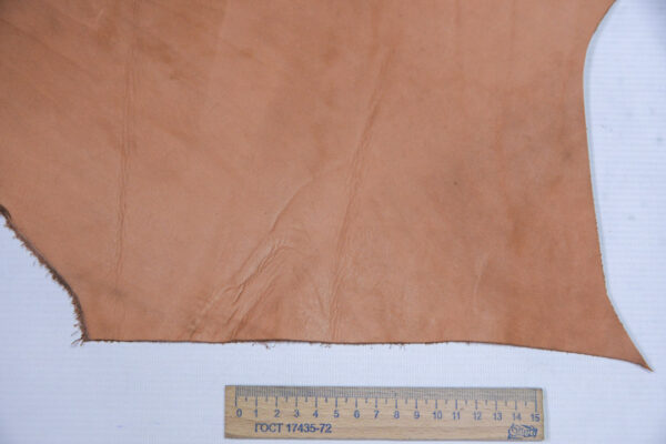 Кожа КРС Крейзи хорс, светло коричневая, 11 дм2.-1-571