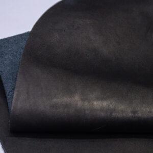Кожа КРС краст, черный, 34 дм2.-1-572