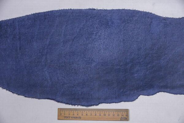 Кожа КРС, синий, 15 дм2.-1-575