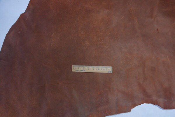 Кожа КРС Крейзи хорс, коньячный, 108 дм2.-1-578