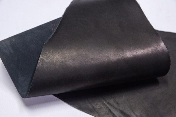 Кожа КРС краст, черный, 22 дм2.-1-580